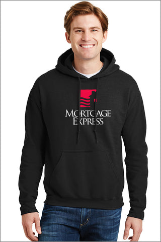 Mortgage Express Pullover Hooded Sweatshirt (Adult Unisex)