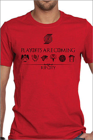 Trail Blazers Playoffs House T-Shirt