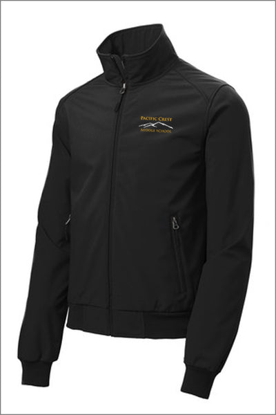 Pacific Crest Soft Shell Bomber Jacket (Mens)