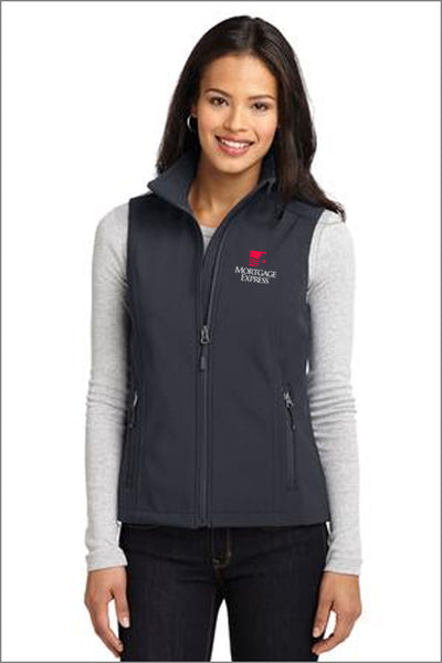 Mortgage Express Core Soft Shell Vest (Womens)