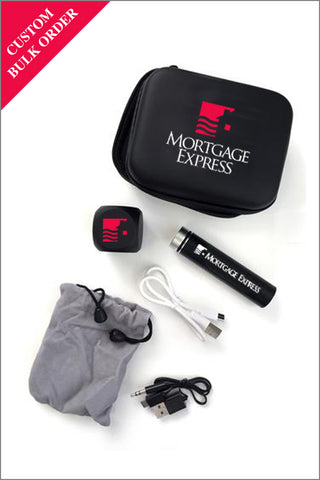 Mortgage Express Phone/Laptop Charger & Speaker Set