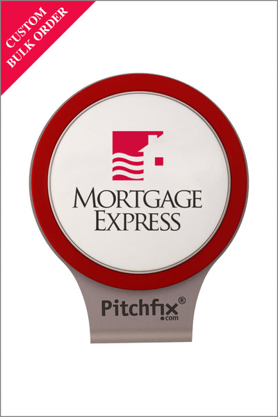 Mortgage Express Golf Ball Marker Hat Clip