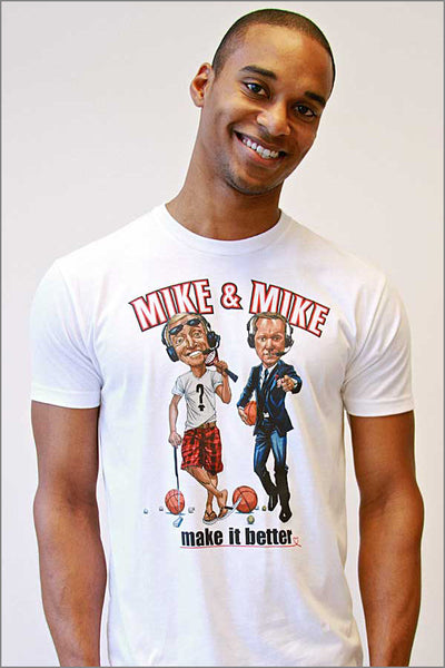 Trail Blazers Mike & Mike T-Shirt