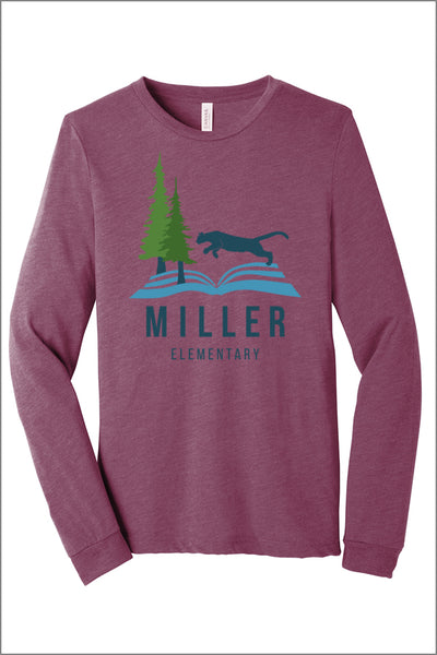 Miller Jersey Long Sleeve Tee (Adult Unisex)