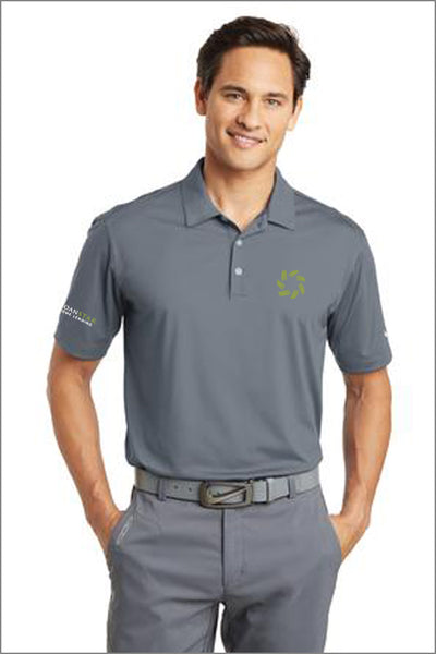 LoanStar Nike Golf Dri-FIT Vertical Mesh Polo (Mens)