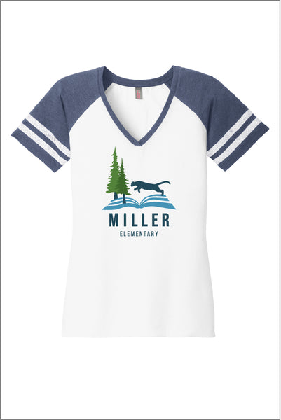 Miller Game V-Neck Tee (Women's)
