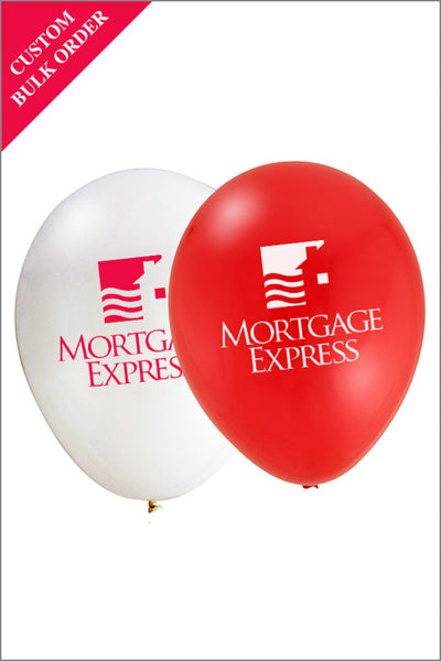 Mortgage Express Branded Balloons