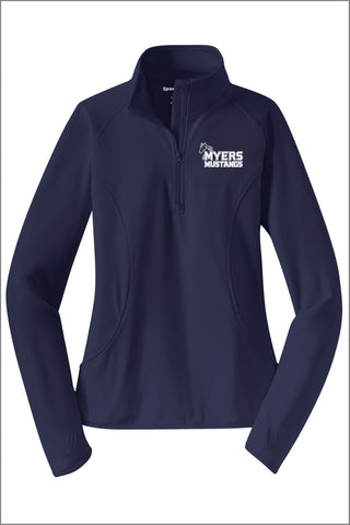 Myers Sport-Wick® Stretch 1/2-Zip Pullover (Women's)