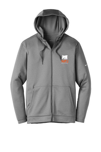 NPJ Oregon Nike Full-Zip Fleece Hoodie (Adult Unisex)