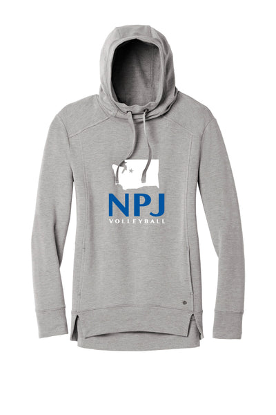 NPJ Seattle Pullover Fleece Hoodie (Womens)