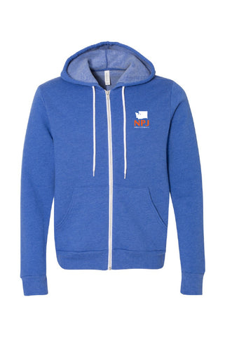 NPJ Seattle Fleece Full-Zip Hoodie (Adult Unisex)