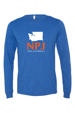 NPJ Seattle Jersey Long Sleeve Tee (Adult Unisex)