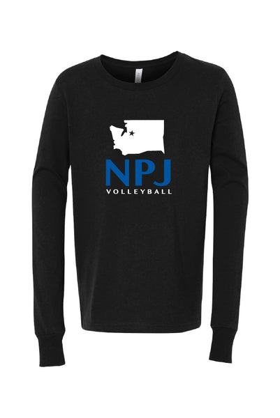 NPJ Seattle Jersey Long Sleeve Tee (Youth)