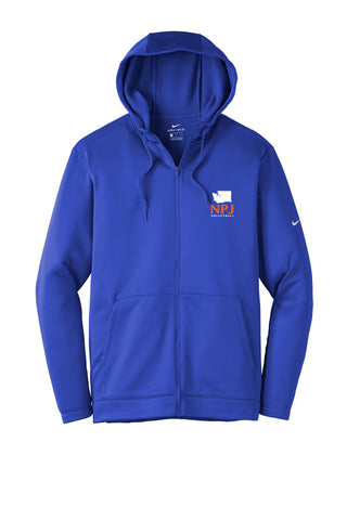 NPJ Seattle Nike Full-Zip Fleece Hoodie (Adult Unisex)