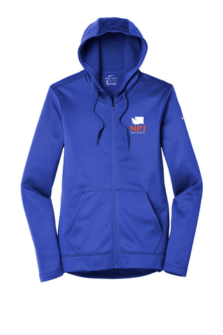 NPJ Seattle Nike Full-Zip Fleece Hoodie (Womens)