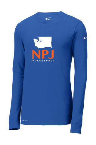 NPJ Seattle Nike Dri-FIT Long Sleeve Tee (Adult Unisex)