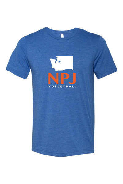 NPJ Seattle Triblend Tee (Adult Unisex)