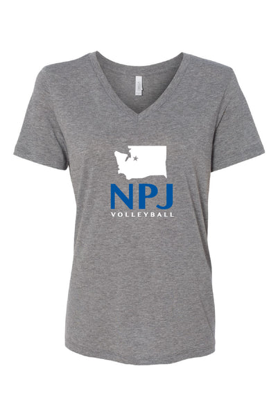 NPJ Seattle V-Neck Tee (Womens)