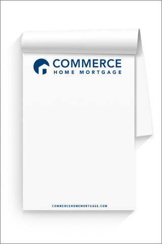 Capital Corps and Commerce 50 SHEET NOTEPAD