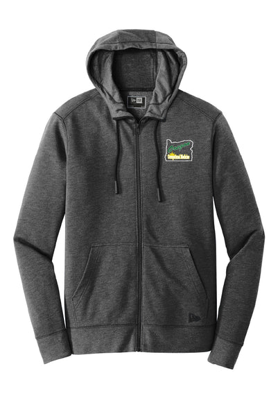 OOM Tri-Blend Fleece Full-Zip Hoodie (Adult Unisex)