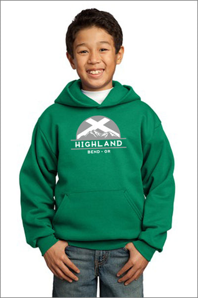 Highland Pullover Hooded Sweatshirt (Youth)