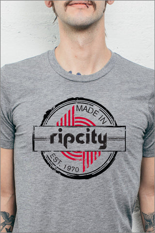 Trail Blazers Rip City Badge T-Shirt