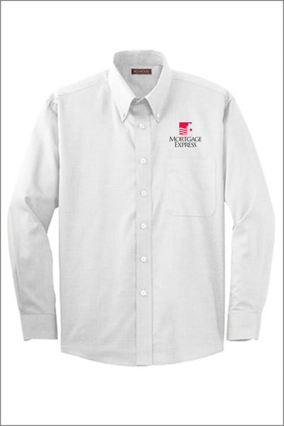 Mortgage Express Non-Iron Button-Down Shirt (Mens)