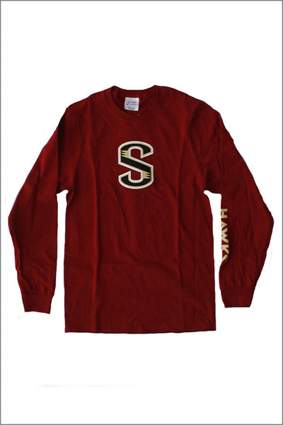 "Southridge Long Sleeve ""S"" Tee"