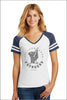 Village Home Game Day Ringer Tee (Womens)