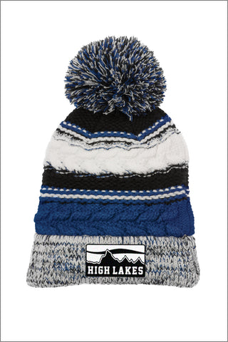 High Lakes Pom Beanie