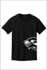 Southridge Hawk B/W Crew Tee Shirt (Youth, Unisex)