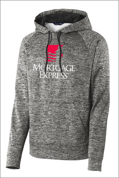 Mortgage Express PosiCharge Heather Fleece Hooded Pullover (Unisex)