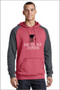 Mortgage Express Fleece Raglan Hooded Sweatshirt (Unisex)
