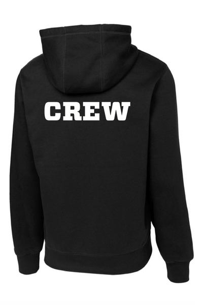 Printed PES CREW Pullover Hooded Sweatshirt (Adult Unisex)