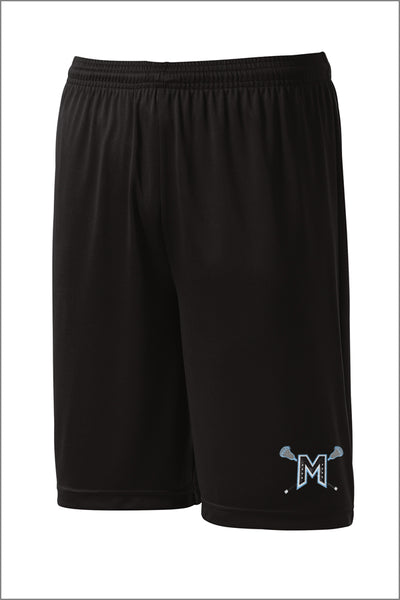 Mountainside Lacrosse PosiCharge Competitor Short (Adult Unisex)