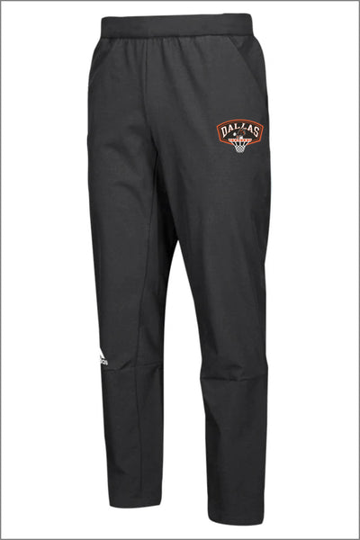 Dallas Basketball Adidas Squad Woven Pant (Womens)