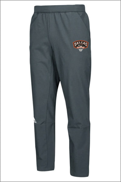 Dallas Basketball Adidas Squad Woven Pant (Adult Unisex)