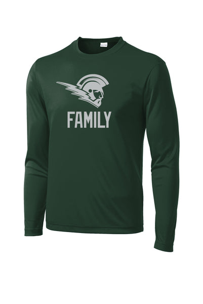 Titans Family Long Sleeve PosiCharge® Competitor™ Tee (Adult Unisex)