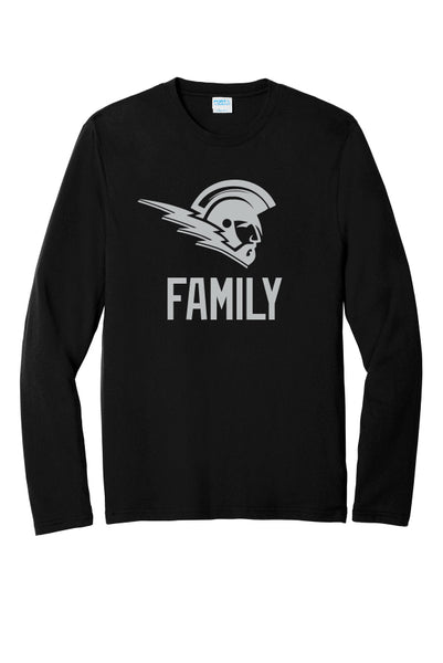 Titans Family Long Sleeve Blend Tee (Adult Unisex)