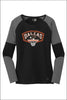 Dallas Basketball New Era Tri-Blend Performance Baseball Tee (Womens)