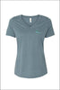 High Lakes Short Sleeve V-Neck Tee (Womens)
