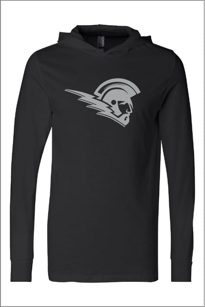West Salem Titan Jersey Hooded Long Sleeve Tee (Adult Unisex)