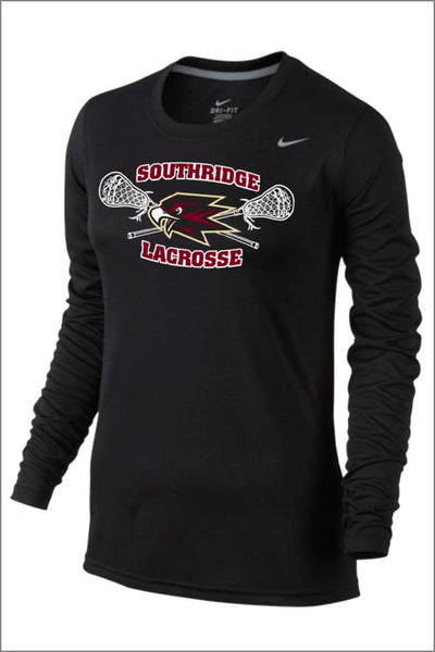 SRHS Lacrosse Nike Legend Poly Long Sleeve (Womens)