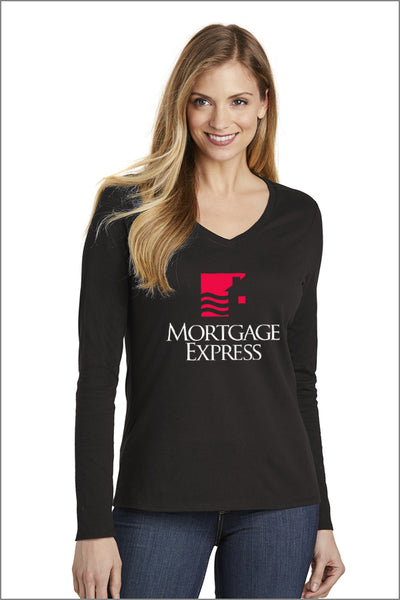 Mortgage Express Long Sleeve Tee (Womens)