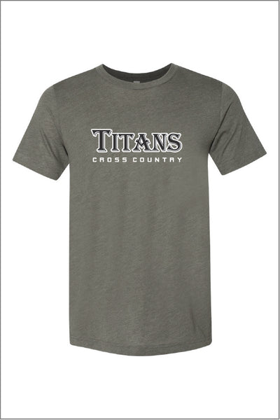 West Salem Cross Country Triblend Tee (Adult Unisex)