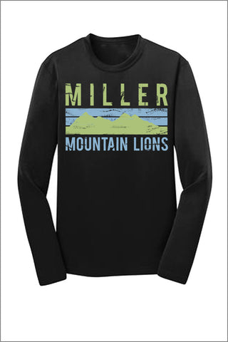 Miller Sport Tek Long Sleeve Tee Shirt (Youth)