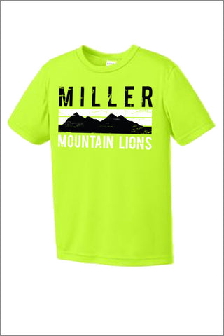 Miller Sport Tek Tee Shirt (Youth)