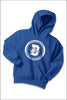 Durham Elementary Fleece Pullover Hooded Sweatshirt (Youth)