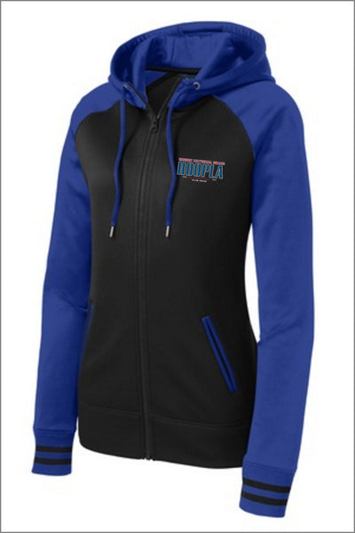 Hoopla Logo Full Zip (Womens)