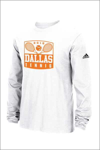 Dallas Tennis Adidas Performance Long Sleeve (Adult Unisex)